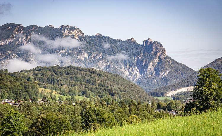 Schlafende Hexe Bischfswiesen Berchtesgaden