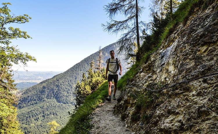Schlafende Hexe Wanderung Lattengebirge