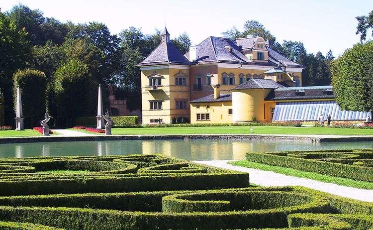 Schloss Hellbrunn Mit Wasserparterre