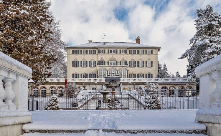 Schlossklinik Abtsee Winter Manfred Fiedler