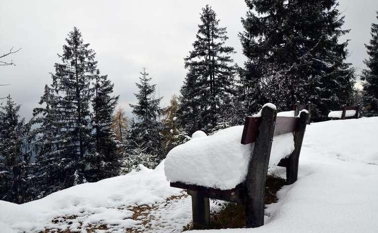 Schnee Bank Brandkopf