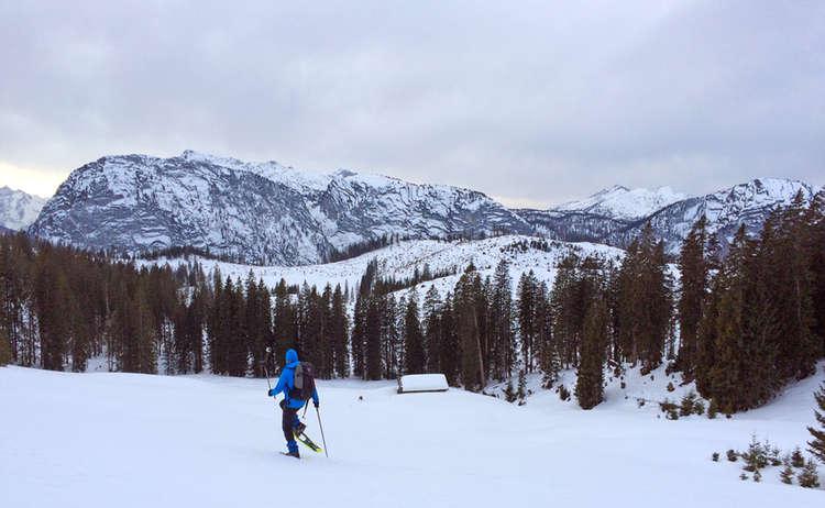 Schneeschuhwandern Im Lattengebirge
