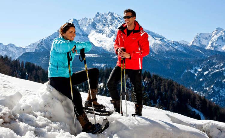 Schneeschuwandern Watzmann