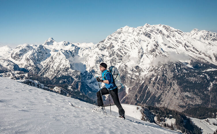 Schneibstein Skitour Watzmann Ostwand