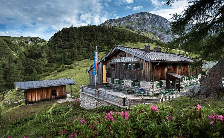Schneibsteinhaus Berghuette Hagengebirge