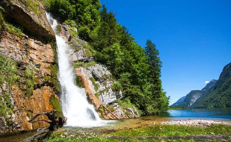 Schrainbach Wasserfalmm Am Koenigssee