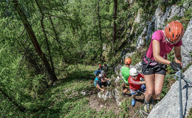 Schuetzensteig Klettersteig Jenner 1