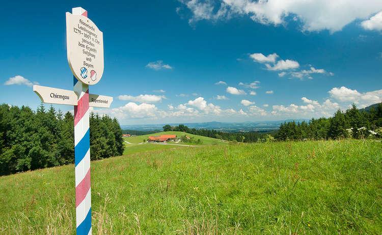 Schwarzenberg Weg Teisendorf