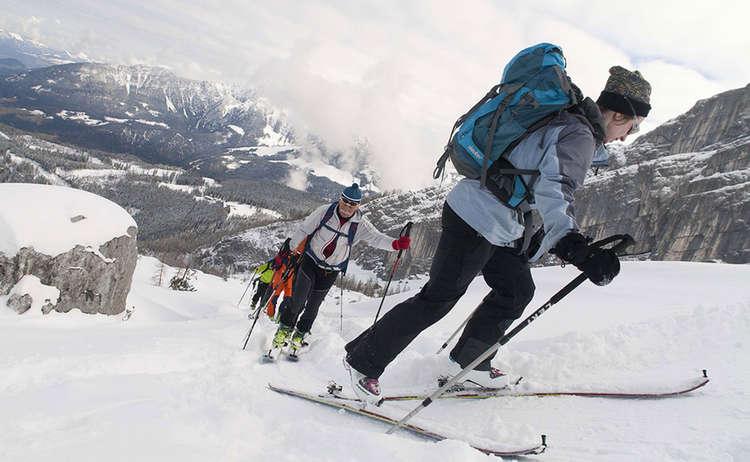 Schwere Skitour Kar