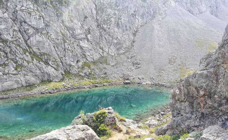 Der Seeleinsee im Hagengebirge
