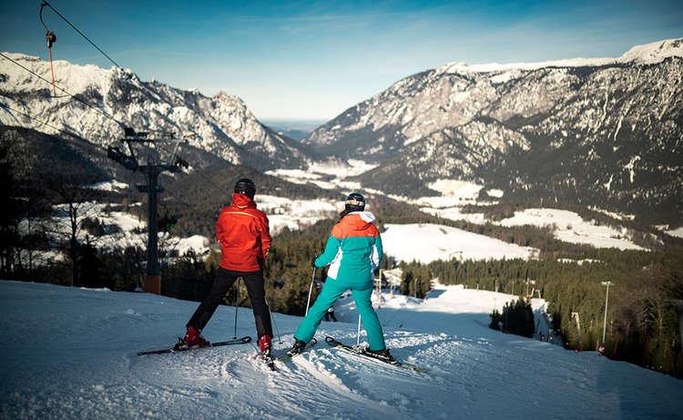 Ski Area Goetschen Berchetsgaden Bavaria