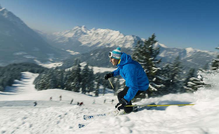 Ski Area Hochschwarzeck Ramsau Bavaria