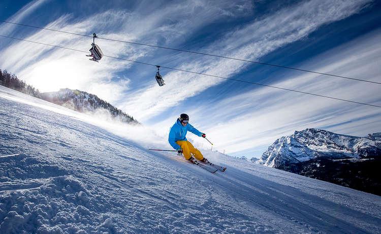 Ski Jenner Wintersport Skifahrer