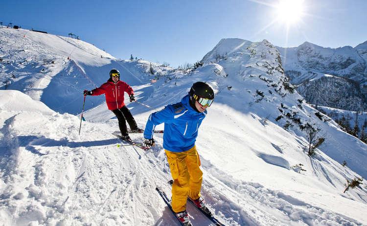 Skifahren Jenner 1