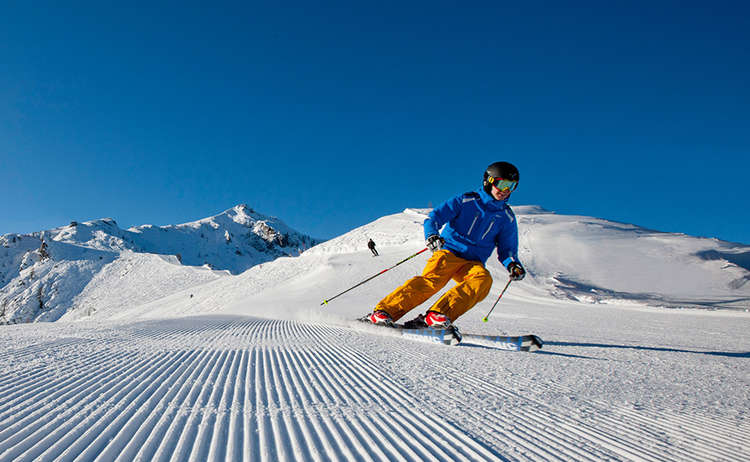 Skifahren Jenner 2