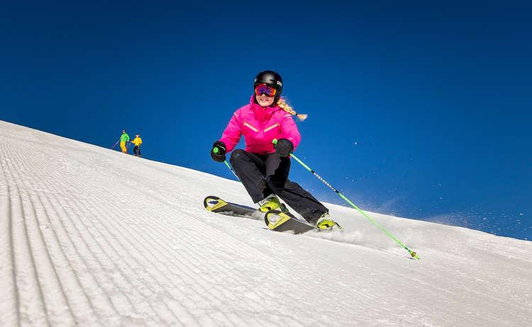 Skifahren Winter Jenner