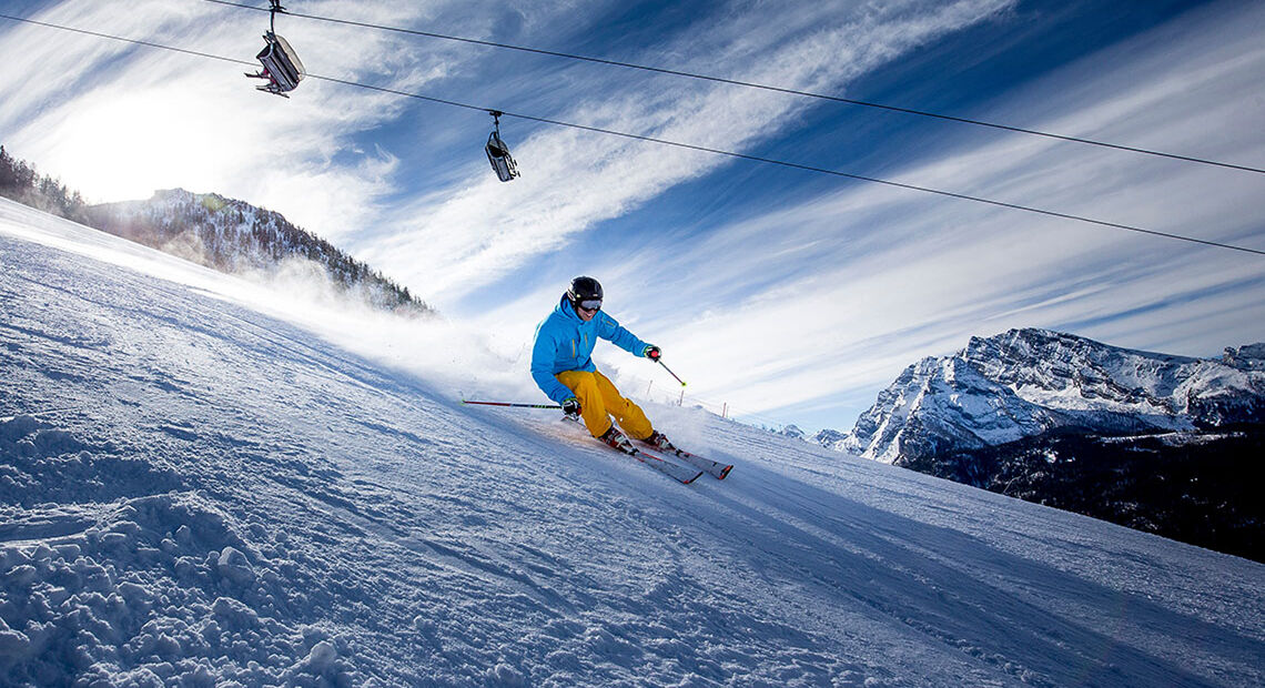 Skifahrer Krautkaser