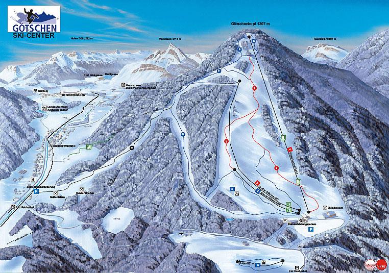 Skigebiet Goetschen 7