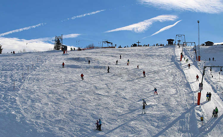 Skigebiet Rossfeld Bayern Berchtesgaden