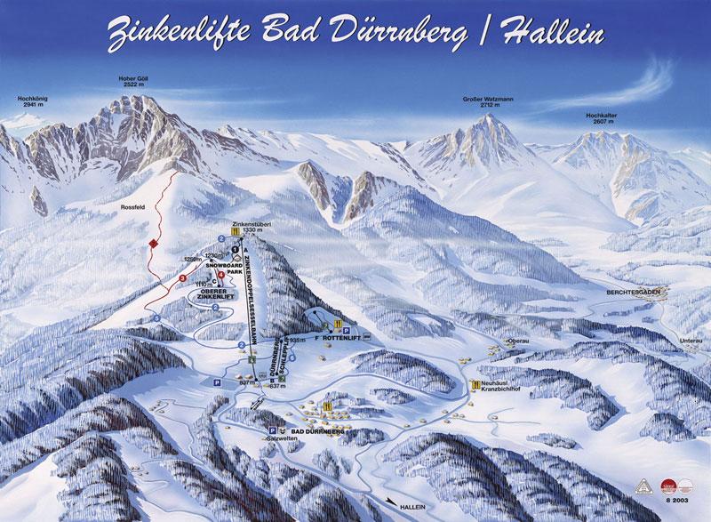Skigebiet Zinken Duerrnberg 8