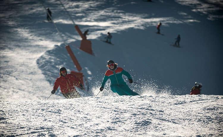 Skiing Berchetsgaden Bavaria