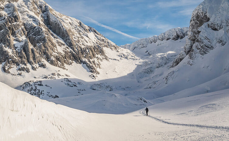 Skitour Hoher Goell Berchtesgaden