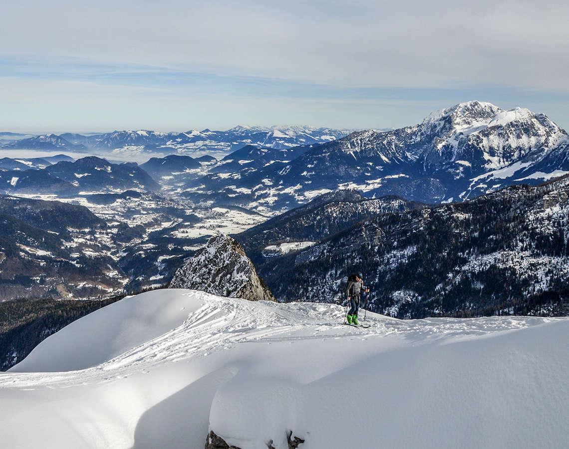 Skitour Skibergsteign Berchtesgdaen Ramsau