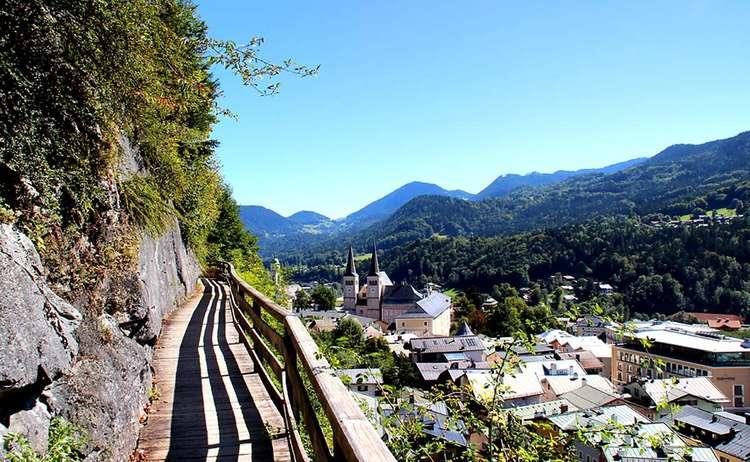 Soleleitungssteg Berchtesgaden