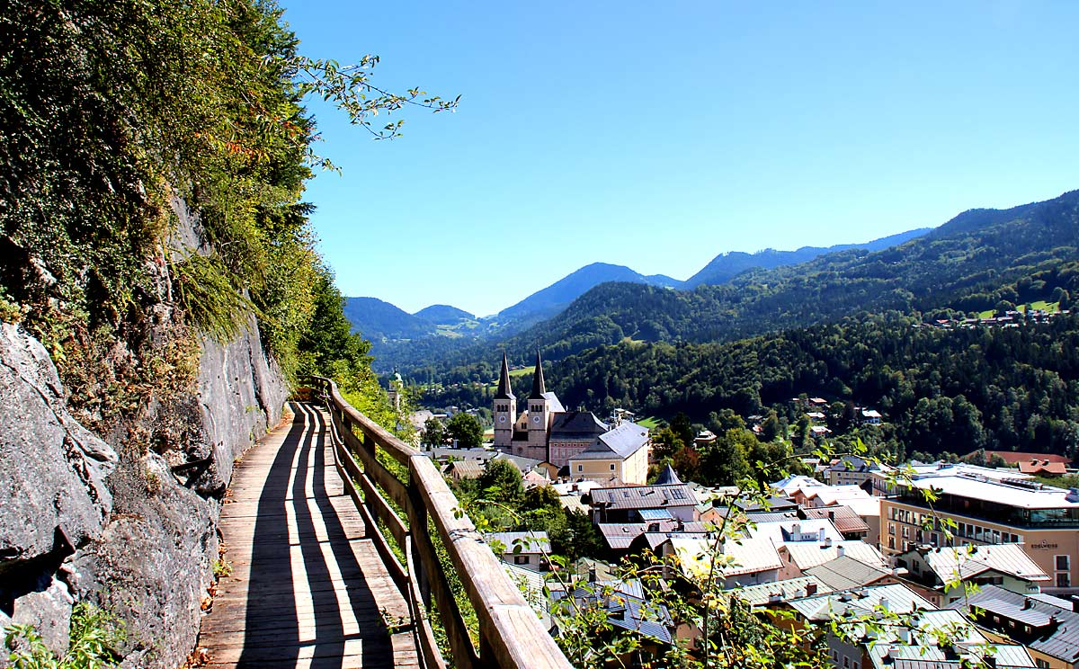 Soleleitungssteg bei Berchtesgaden