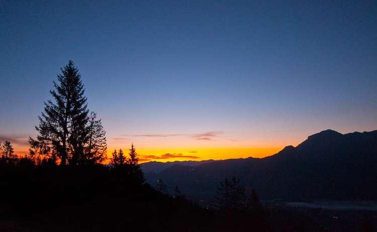 Sonnenaufgang Wander-Festival