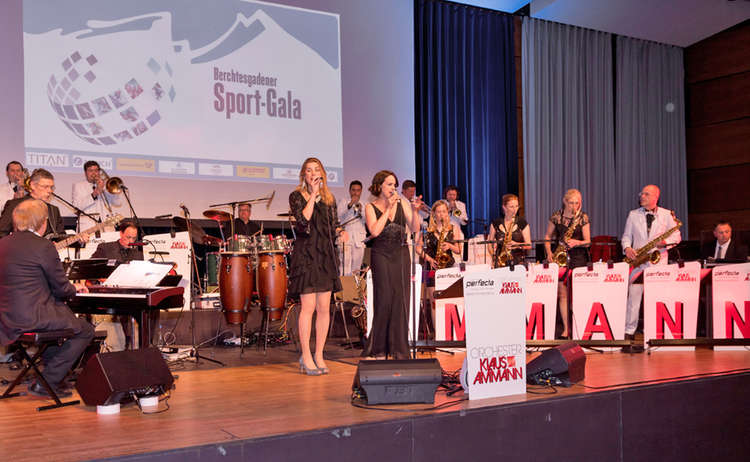 Sportgala 2018 Buehne Band