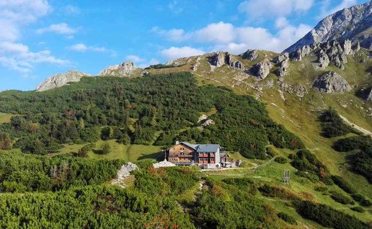 Stahlhaus Kleine Reibn Bergtour