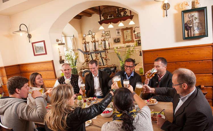 Stammtisch Wieninger Bier Heimatbrauer