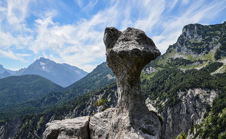 Die Steinerne Agnes: Ein Pilz aus Felsen