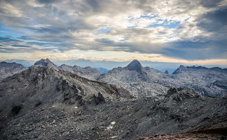 Steinernes Meer Berchtesgadener Alpen