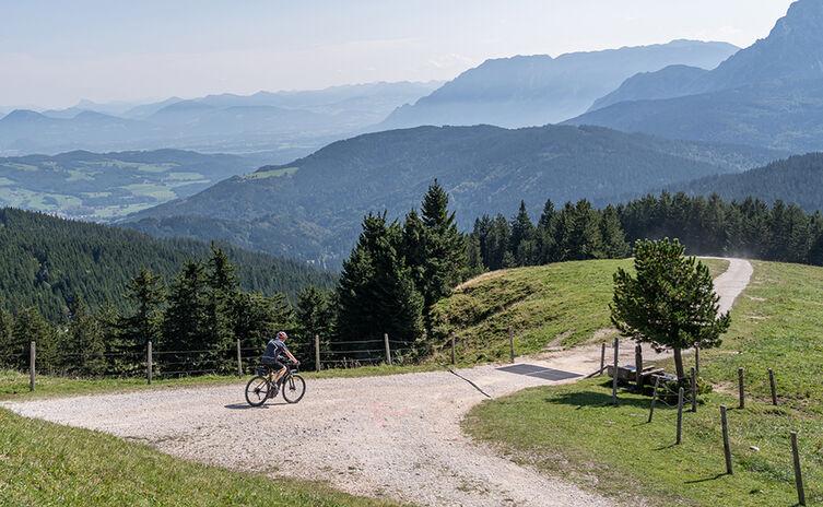 Mountainbike-Tour auf die Stoißer Alm