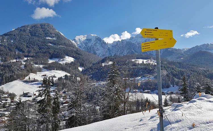 Sulzbergkopf Winterwandern