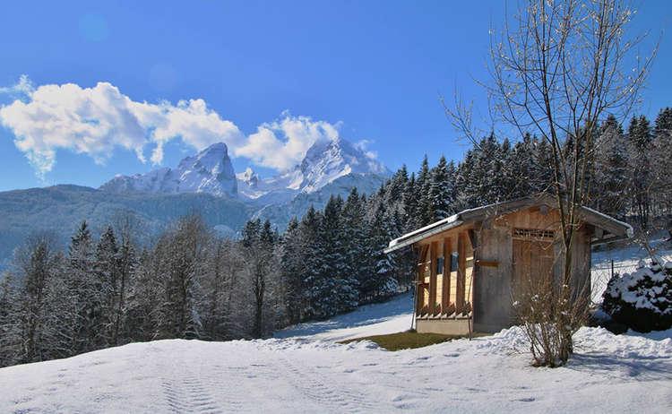 Sulzbergkopf Winterwanderung Schoenau