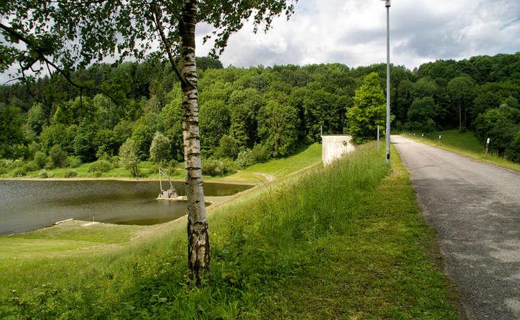 Surspeicher am Stausee-Weg Teisendorf