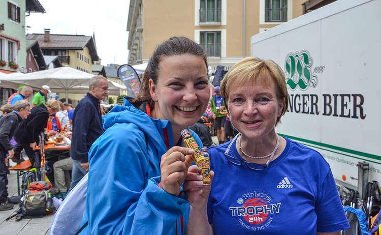 Suse von Grassl EPS und Karin, Orga-Teamchefin BGLT
