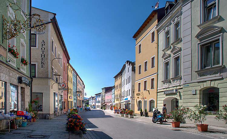 Teisendorf Markt Strasse
