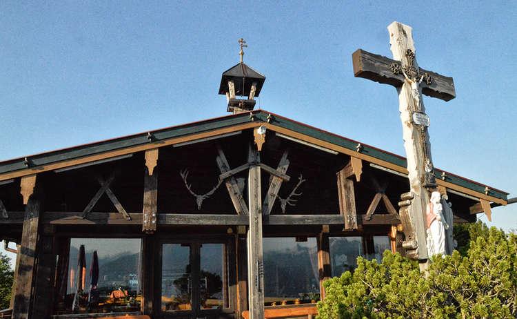 Terrasse Paulshuette Kneifelspitze