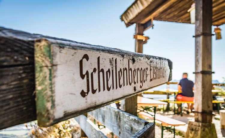 Toni Lenz Huette Schellenberger Eishoehle Untersberg