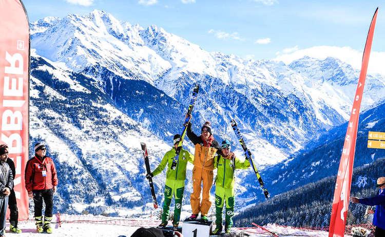Das Individual Race der Skibergsteiger WM in Verbier © Seebacher