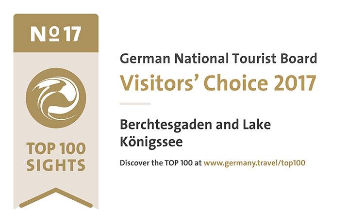 Top 100 Ausflugsziele | Berchtesgaden und Königssee