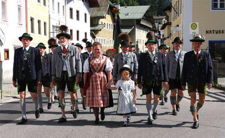 Festzug Trachtenjahrtag, Berchtesgaden (c) B. Stanggassinger
