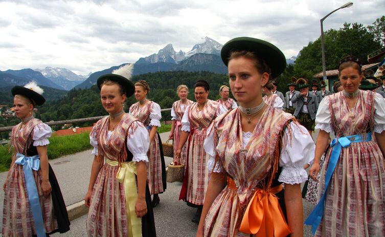 Festzug Trachtenjahrtag, Berchtesgaden