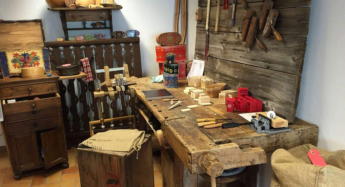 Traditionelles Handwerk Berchtesgaden