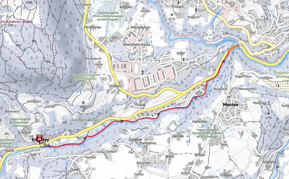 Triftweg Gmundberg Winterwanderung