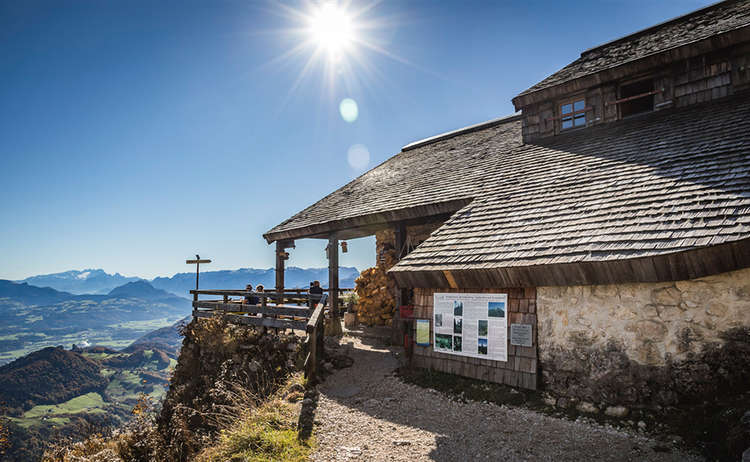 Die Toni Lenz Hütte am Untersberg